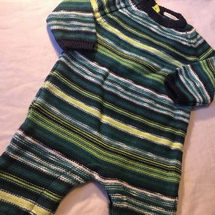 0-3 Month Shades of Green Playsuit.